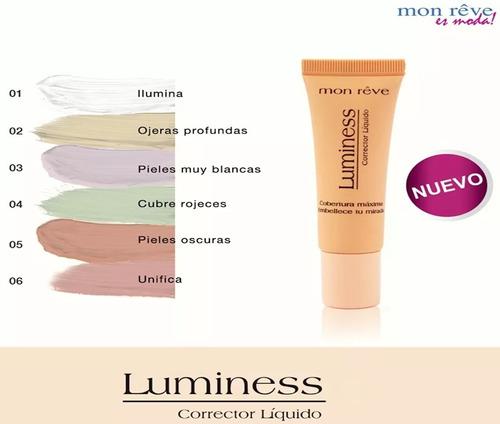 corrector líquido monreve luminess