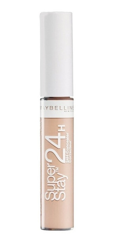 corrector maquillaje super stay 24 rostro maybelline