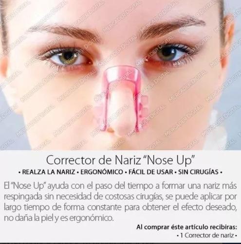 corrector nariz, respinga y estiliza