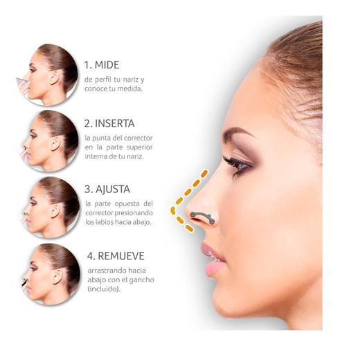 corrector nasal invisible nariz pe - unidad a $9850