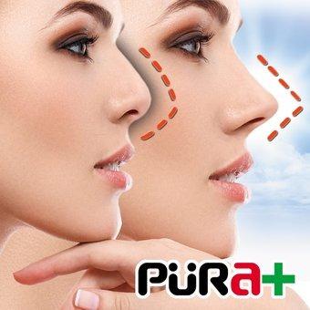corrector nasal invisible nariz perfecta x2 unidades