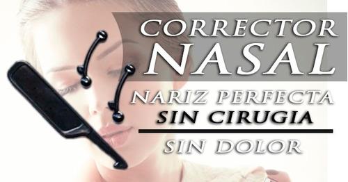corrector nasal - nariz perfecta - dos pares por $20.000