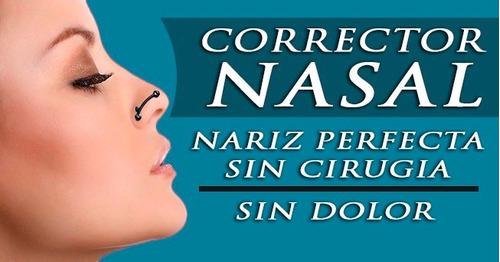 corrector nasal - nariz perfecta  x 4 unidades $20.000