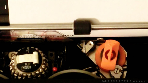 corrector p máquina de escribir i b m  82/96 c original 3 m