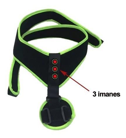 corrector postura espalda ajustable magnético unisex