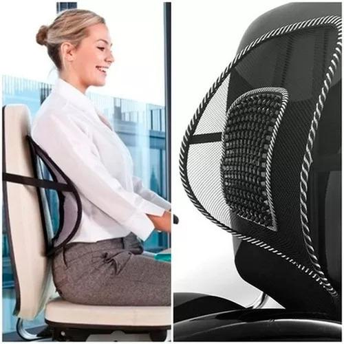 corrector postura espalda cojín lumbar espaldar sillas mnr
