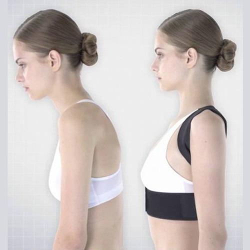 corrector postura espalda hombros unisex invisible ajustable