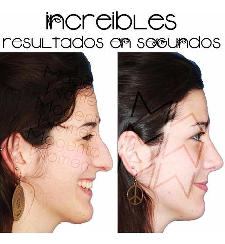 correctores nasales rulav respingador invisible de nariz