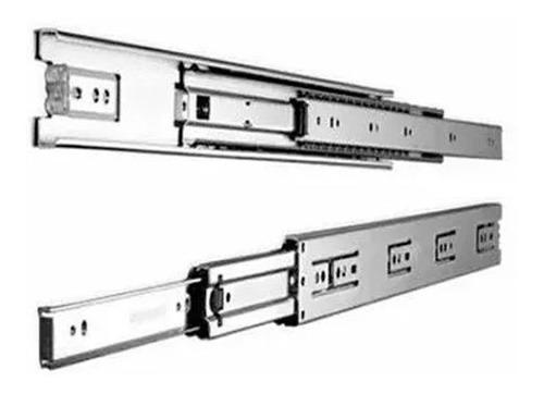 corredera telescópica 450 mm 45 cm cajón zinc mundo cima