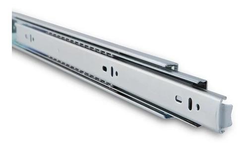 corredera telescópica cierre suave zinc 550mm