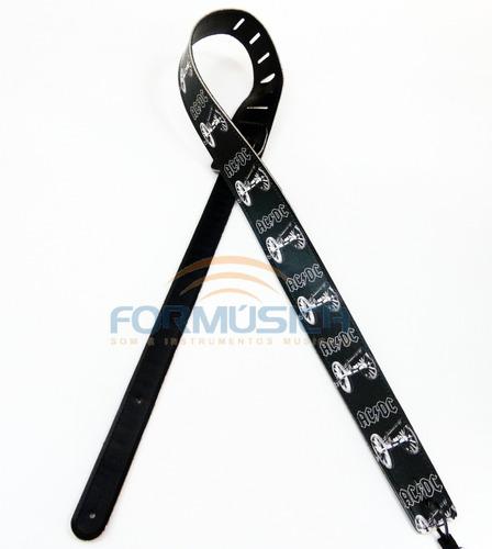 correia ax straps violão baixo guitarra ac/dc