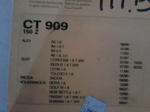 correia dentada golf gti 1.8 20v turbo (150 dentes)