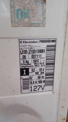 correia lavadora eletrolux le05