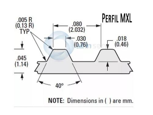 correia mxl do carro p/plotter foison c12,  9 mm x 1,40 mt