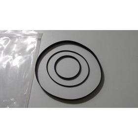 Correias Para O Tape-deck Polyvox Cp-750d