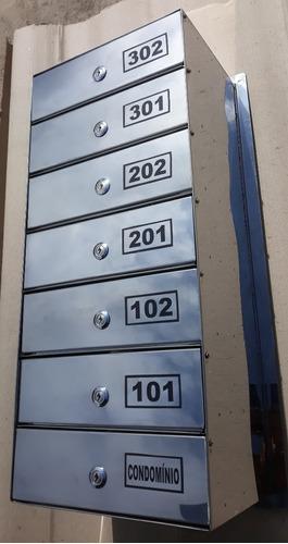 correio aço caixa