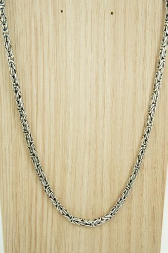 corrente bali 5,5 mm x 60 cm ponto peruano (me) prata 925