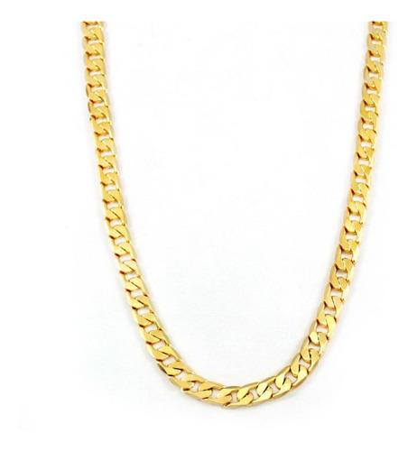 corrente banhada ouro 60 cm qmaximo com nota fiscal