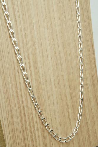 corrente cadeado 4 mm x 60 cm (m12) prata 925