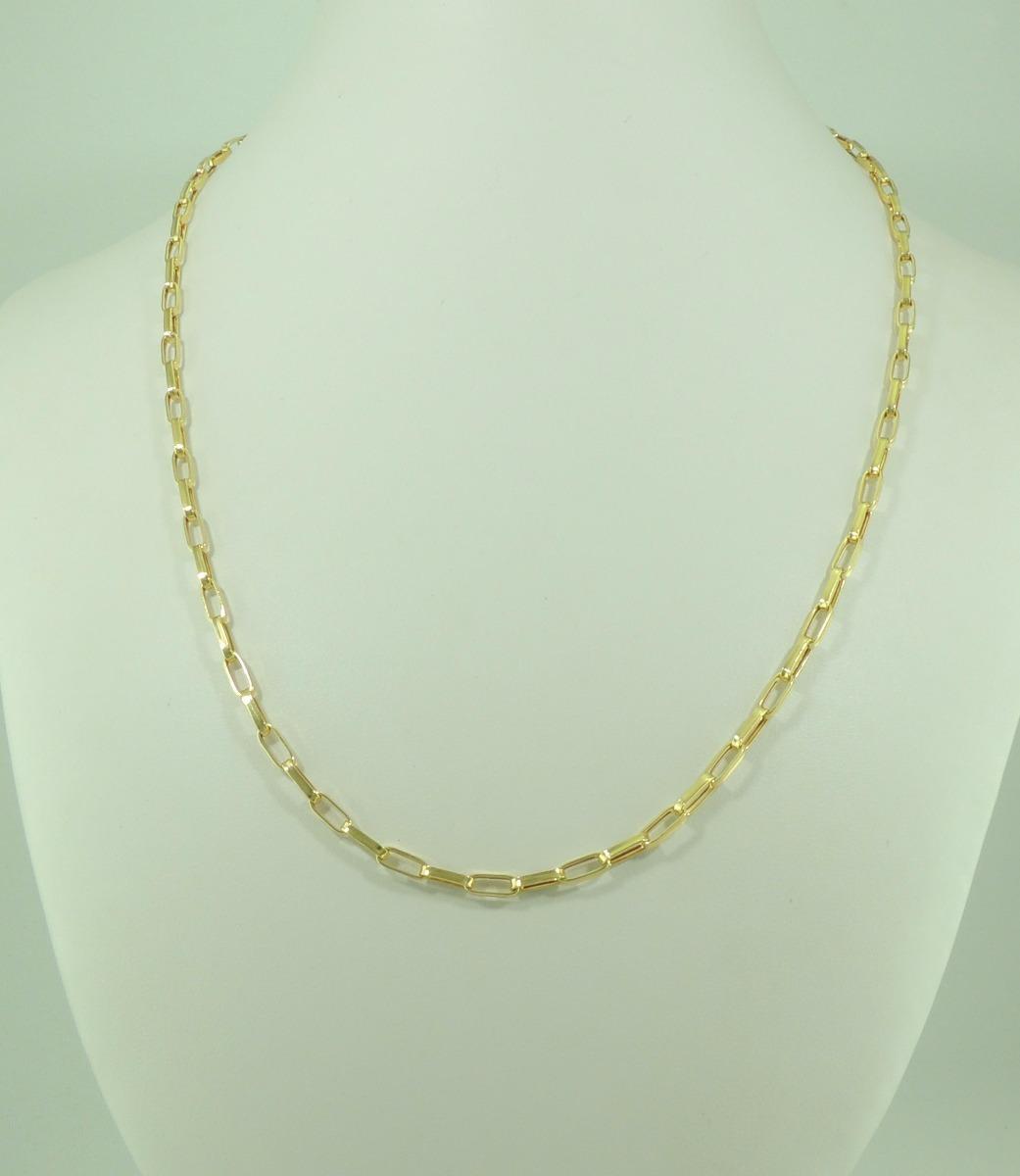bd91478efe6 corrente cartier 55 cm + são jorge ouro 18k 750 colar. Carregando zoom.