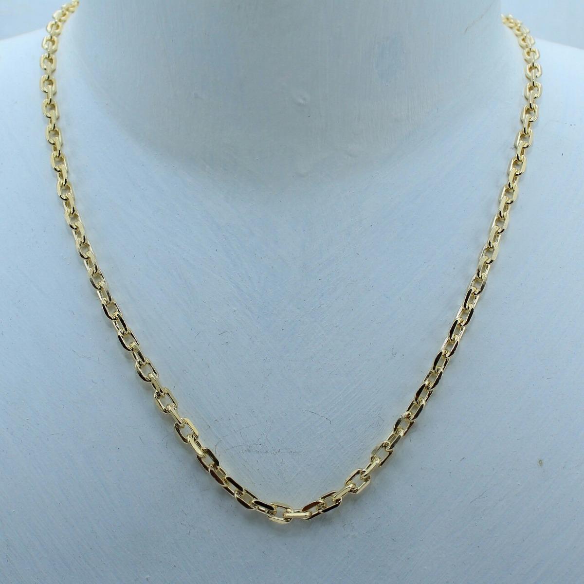 104dd4097a7 Corrente Cartier Banhada Em Ouro 18k - R  143