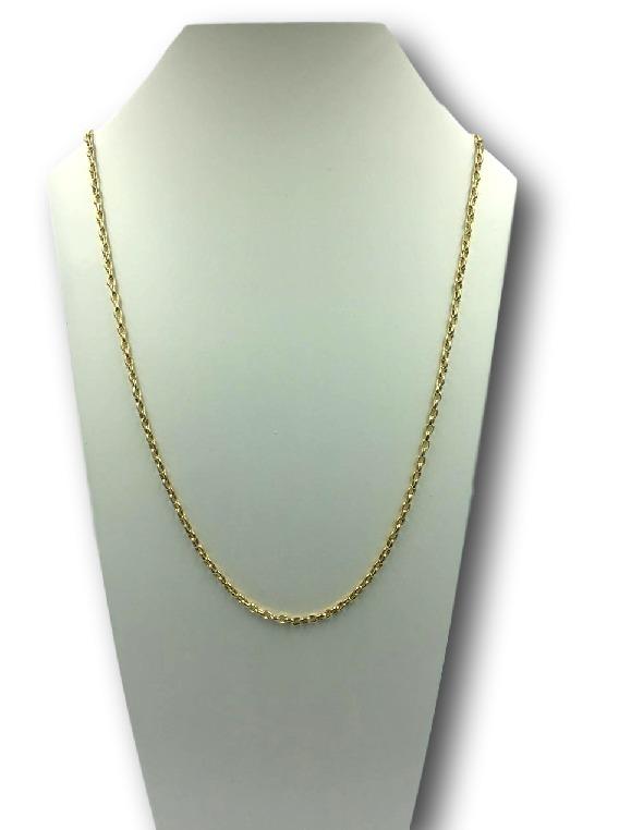 7064f7515d4 Corrente Cartier De Ouro 55 Cm - R  1.849