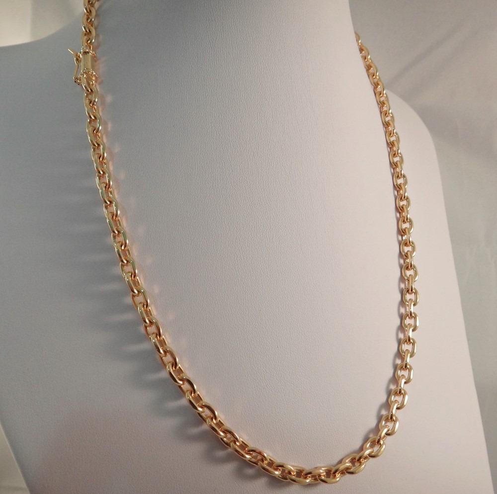 4c57b8fc176 corrente cartier em ouro 18k 750 italiana promoção. Carregando zoom.