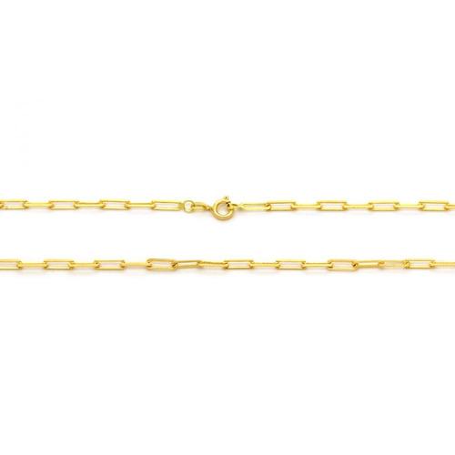 corrente  cartier em ouro 18k  - ov / 10483