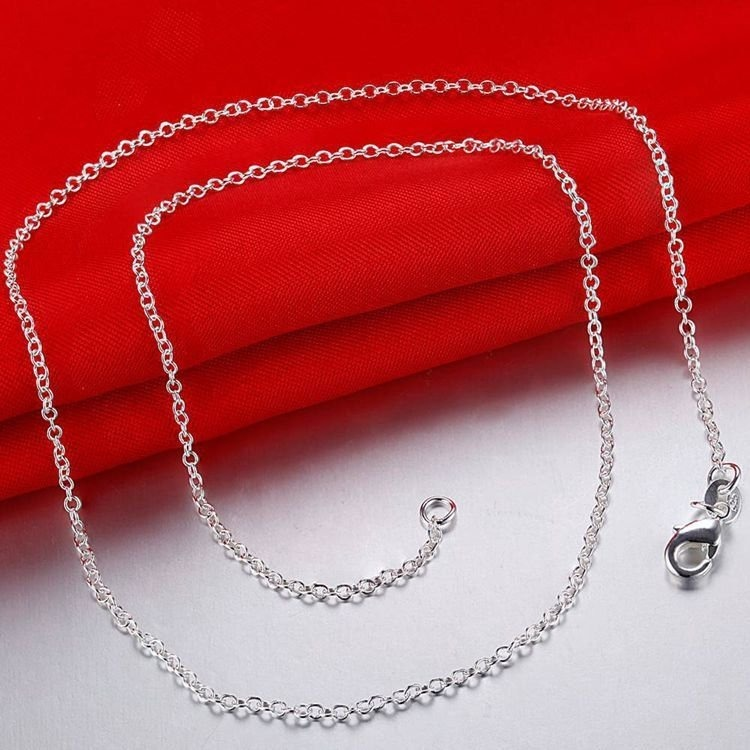 3d3ebe38618 Corrente Cartier Feminina E Masculina Fina Banhada Em Prata - R  36 ...