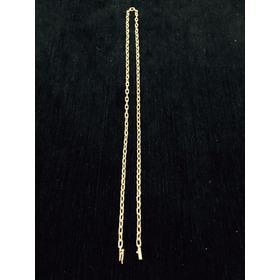 Corrente Colar Cordão De Ouro Maciço 18k Elo Cartier