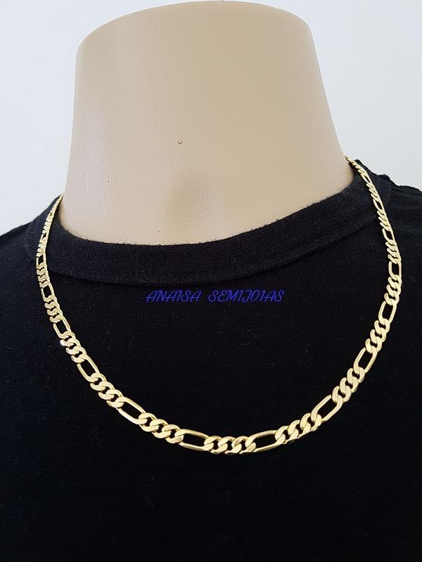 c1ef15ac9632a corrente colar cordão latina masculino banhado ouro 18k. Carregando zoom.