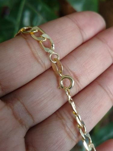 corrente colar cordão masculino banhado a ouro 18k