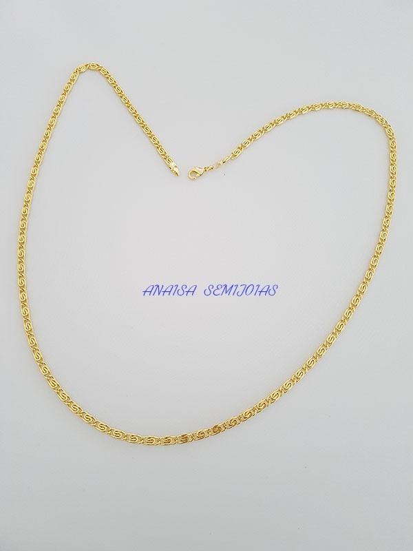 a646986811146 corrente colar cordão nápoles masculino banhado ouro 18k. Carregando zoom.