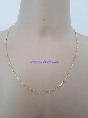 corrente colar cordão terano masculino banhado ouro 18k