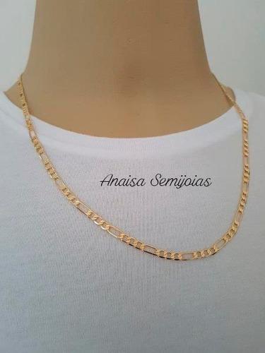 corrente colar masculino ouro