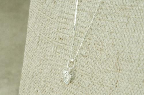 corrente colar ponto de luz redondo 7 mm (me10) prata 925