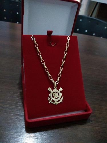 corrente com pingente ouro 750 18k com garantia 10 gramas
