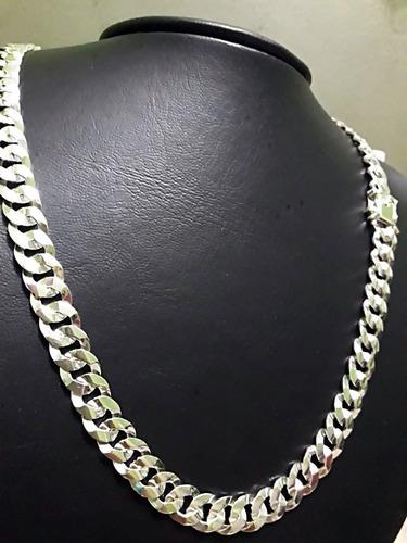 corrente cordao de prata 925. groumet 9mm x 70cm