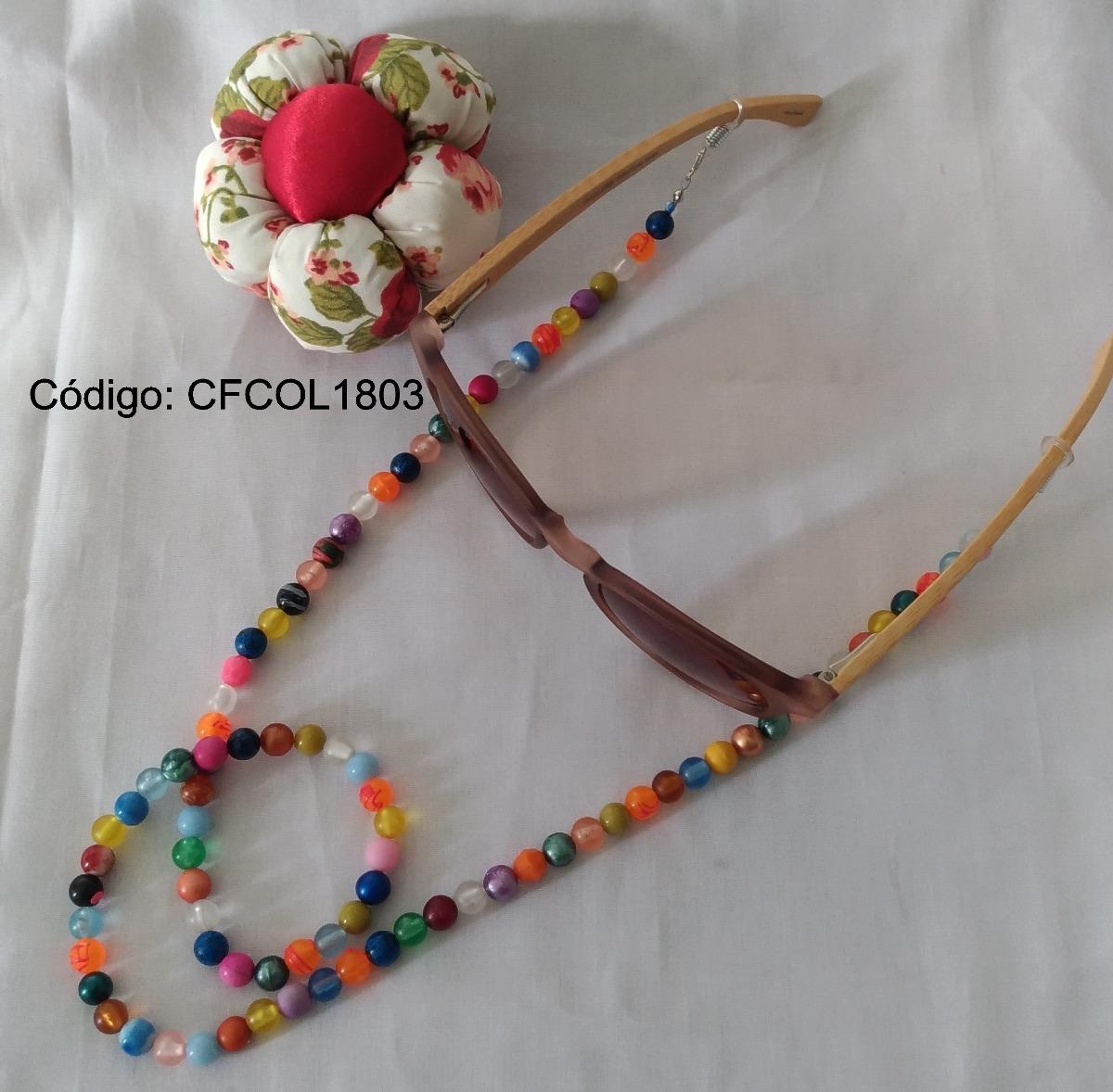 Corrente Cordao Para Segurar Oculos - R  9,90 em Mercado Livre f936891b72