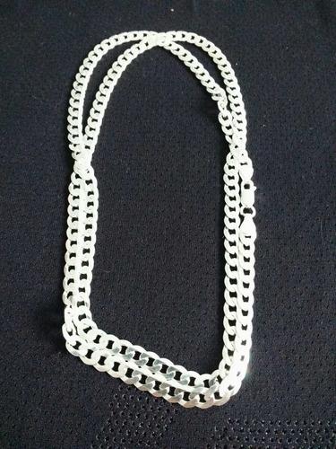 corrente cordão 70cm 36g escama flat prata 925 italiana