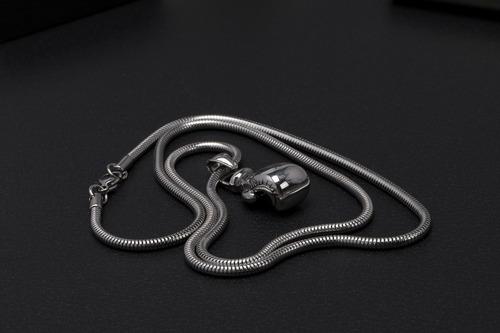 corrente cordão aço inox ogrife j-60 pingente luva boxe 70cm