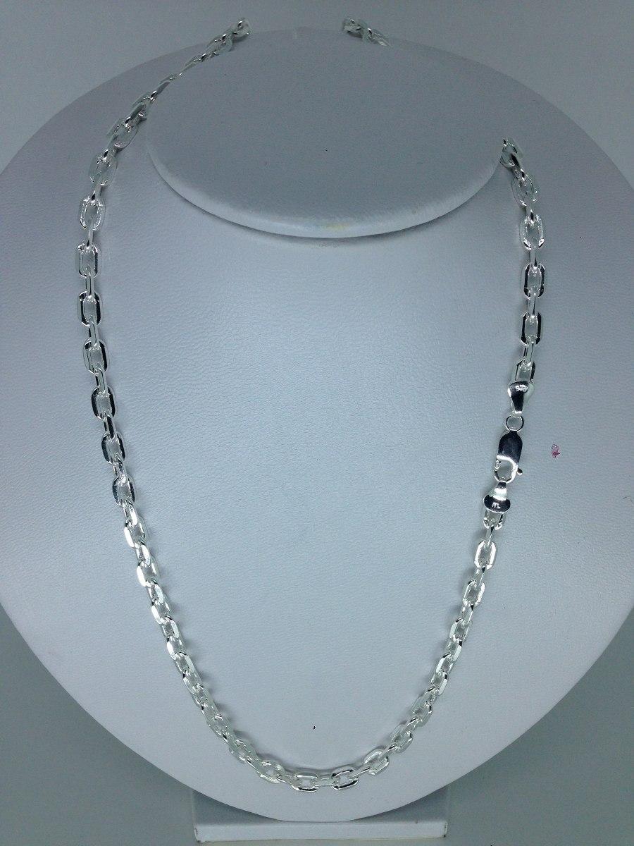 13a7f2afa42 corrente cordão cartie cadeado 60cm 5mm em prata 925 grossa. Carregando  zoom.