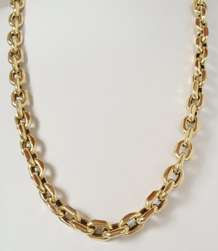 4c43a50fd20 Corrente Cordão Cartier Cadeado Em Ouro 18k 750 Luxo Grossa - R ...