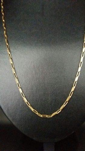 fe4449e6d26 Corrente Cordão Cartier Oca Alongada 60cm Masculino Ouro 18k - R ...