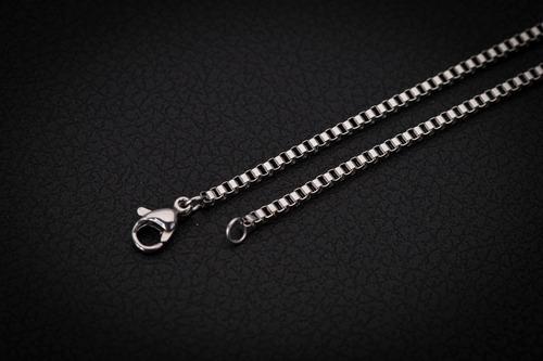 corrente cordão escapulário aço inox ogrife j-272 original