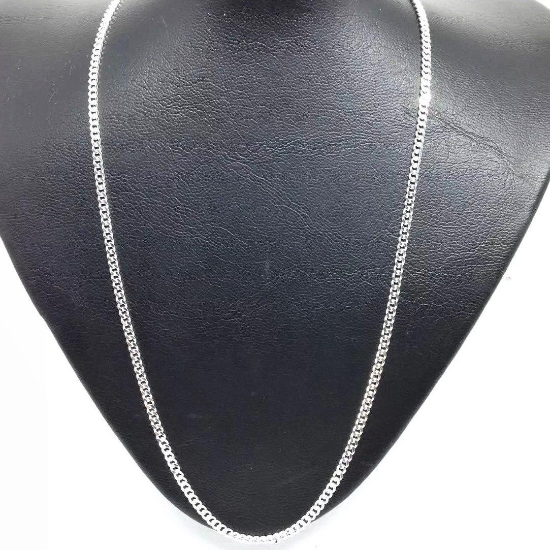 00ea38a455 corrente cordão italiana masculina grumet 60cm 3mm prata 925. Carregando  zoom.