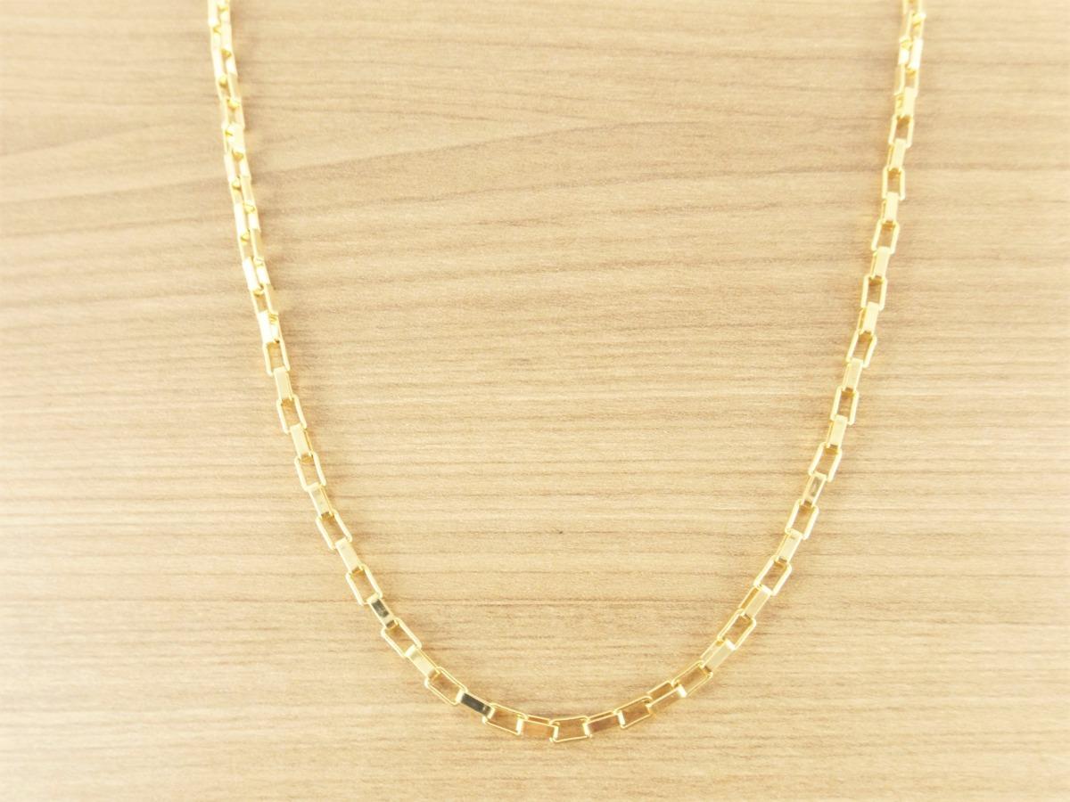 6add1585701 Corrente Cordão Masculina Q 50cm 3mm Folheada Ouro Semi Jóia - R ...