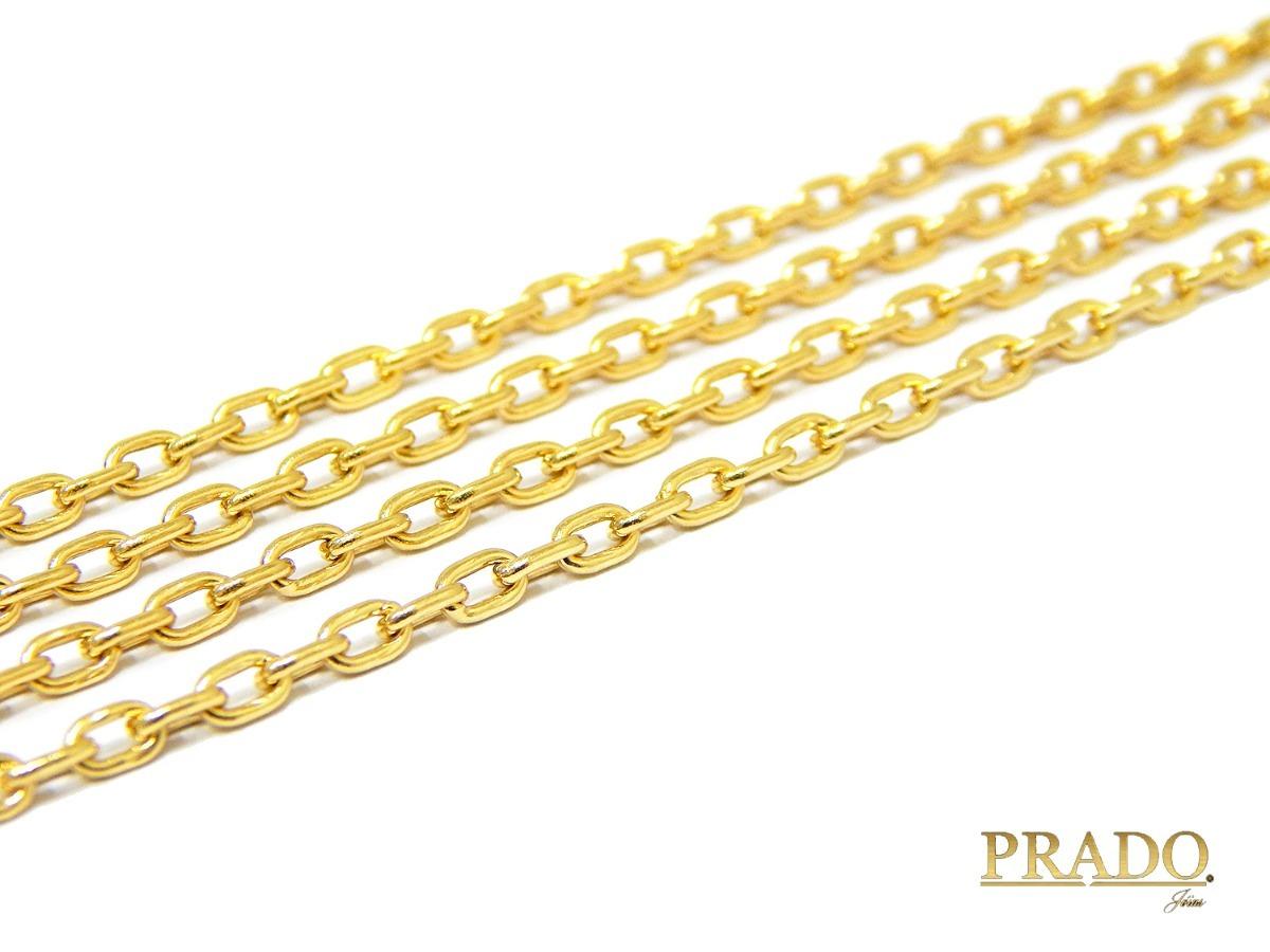 cd5b8f9f0ed corrente cordão masculino cartier em ouro 18k 70cm. Carregando zoom.