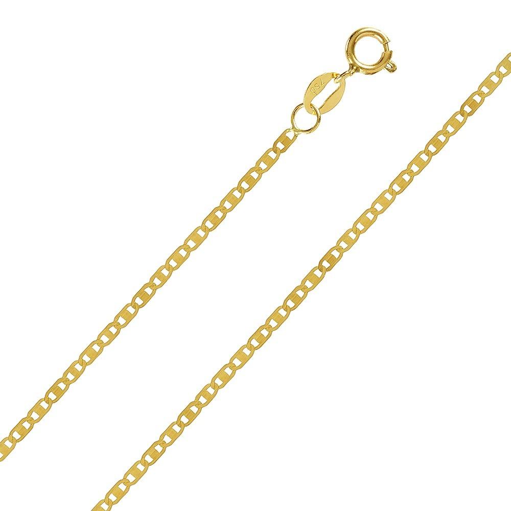 bc88299e466e8 Corrente Cordão Masculino Ouro 18k Piastrine 60cm - R  399,90 em ...