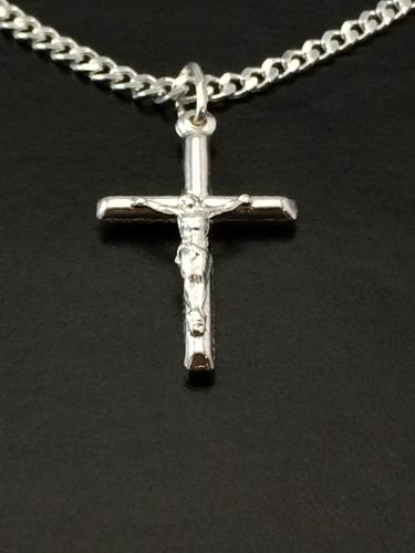 corrente cordão prata maciça 925 gurmet flat 60 cm pingente